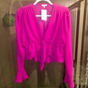 TCEC Hot Pink blouse